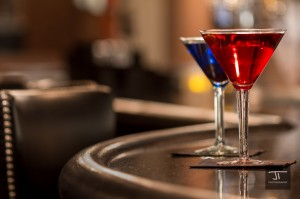 Martinis on the bar - Jeremiah True Photography